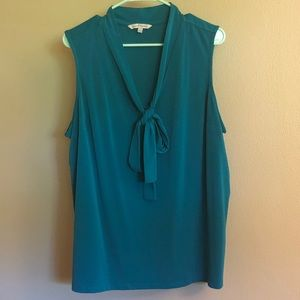 NWOT Stitchfix dressy sleeveless plus sz blouse 2X